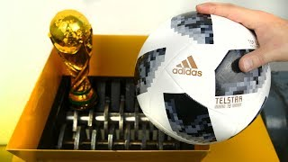 SHREDDING WORLD CUP SOCCER BALL!