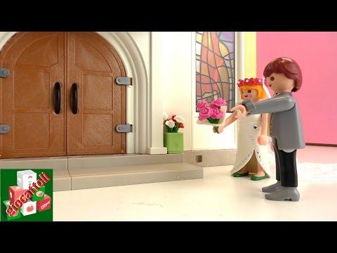 Playmobil Film – Chiesa Playmobil – Coppia di sposi al matrimonio sbagliato