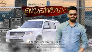 Motion Poster | Endeavour | Gavvy Sidhu | Speed Records