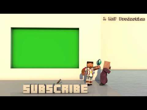 Youtube OUTRO - MINECRAFT with Game sounds