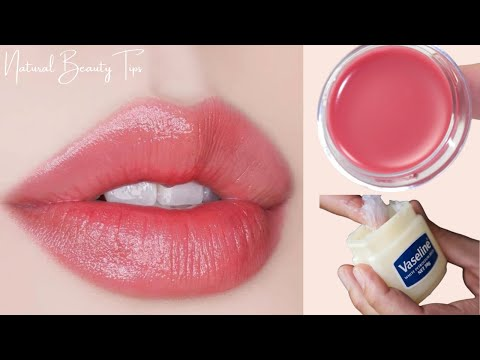HOW TO MAKE LIP BALM AT HOME IN EASY WAY! Make Your Own Lip Balm for Soft Pink Lips -100% Work