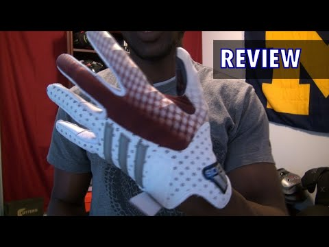 Adidas CrazyQuick Football Gloves Review - Ep. 195