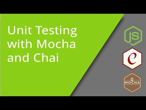 JavaScript Unit Testing with Mocha and Chai