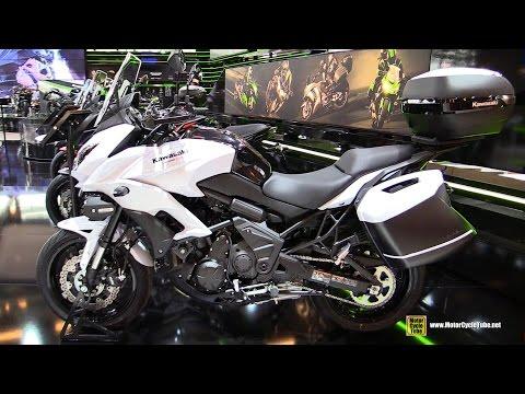 2016 Kawasaki Versys 650 ABS - Walkaround - 2015 Salon de la Moto Paris