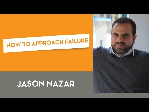 How To Approach Failure