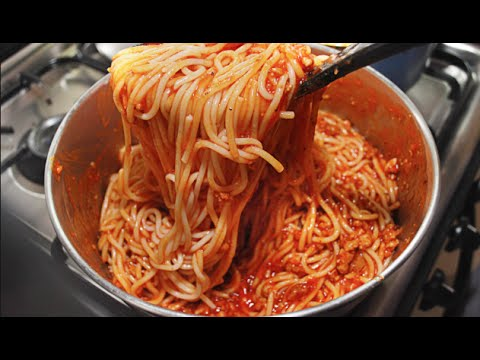 How to make All in One Spaghetti!