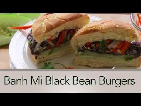 Black Bean Burger Recipe -- Easy Vegan Recipes -- The Frugal Chef