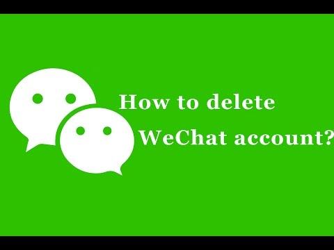 WeChat - Delete Account