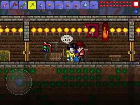 How to craft dye on Terraria on the app for iPhone/iPad.