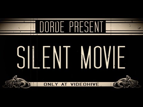 SILENT MOVIE - After Effects Template Project (Royalty Free)
