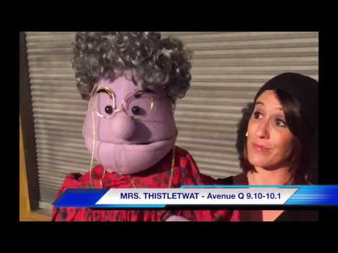 Interview with Ms Thistletwat at The Noel S. Ruiz Theatre