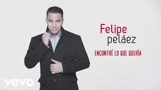 Felipe Peláez - Encontré Lo Que Quería (Cover Audio)