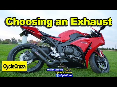Tips For Choosing Motorcycle Exhaust (Avoid Problems)| MotoVlog