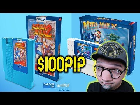 $100 Limited Official Mega Man Repros? Mega Man X SNES & Mega Man 2 NES iam8bit