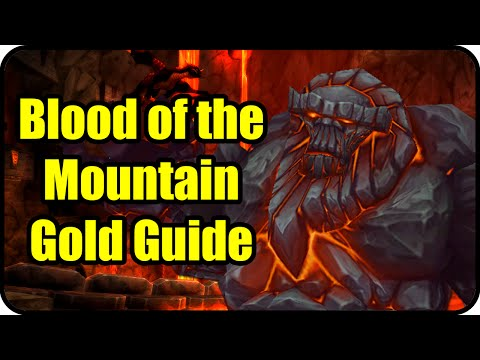 WoW Gold Farming Patch 6.2.4: Blood of the Mountain Gold Making - Molten Core Farming Guide - WoD