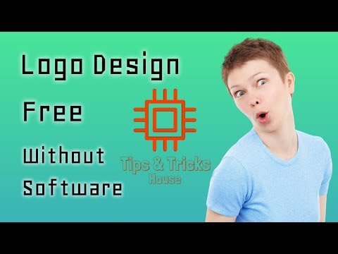 How To Create Professional Logo Without Any Software (2018)