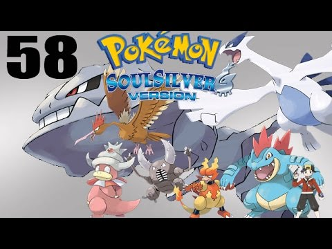 Let's Play Pokémon Soul Silver #58 - Cerulean Gym! Slowking VS Starmie!