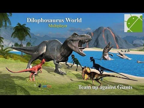 Dilophosaurus Dino Multiplayer - Android Gameplay HD