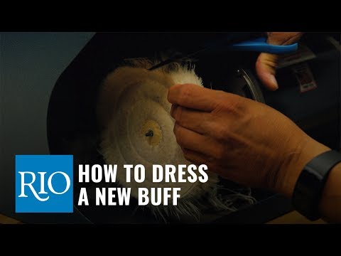 How To Dress a New Buff