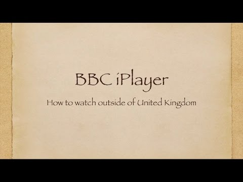 How to watch the BBC iPlayer outside the United Kingdom 4/30/16 Updated