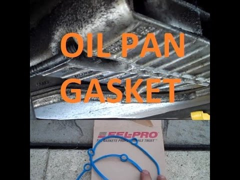 3400 V6 Oil Pan Remove Replace Gasket Detailed How To