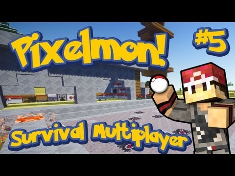 Pixelmon Survival Multiplayer Episode 5 - Pokeball Production! w/LittleLizardGaming