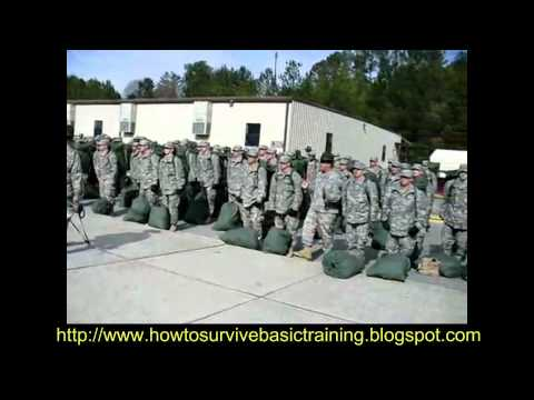!!WOW!!  Army Basic Training, Pick Up Day Zero  !!MUST SEE!!