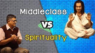 Middleclass VS Spirituality - Feat Gajraj Rao & Aakash Dabhade @ShemarooComedy