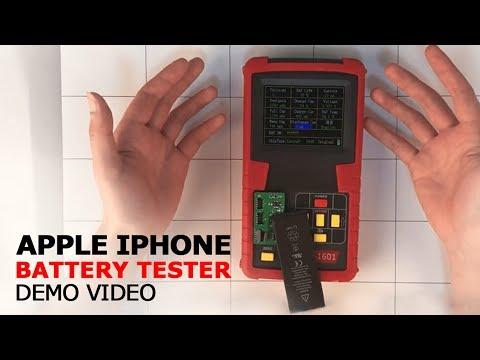 UnionRepair.com Apple battery tester operation video