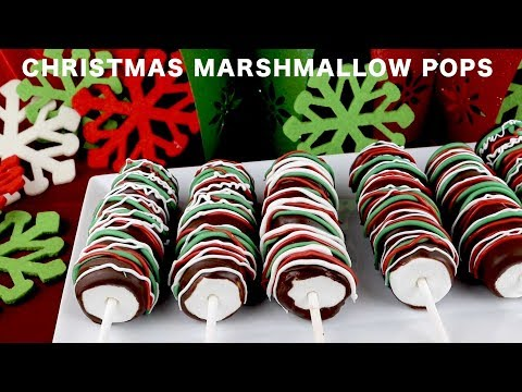 Christmas Marshmallow Pops by Two Sisters