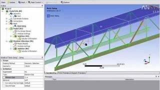 Bridge building with SpaceClaim 18 2 - PakVim net HD Vdieos