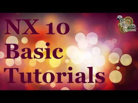 Unigraphics /NX 10 Basic tutorial for Begineer in Hindi/English