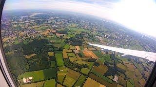 45 Minutes Above The Clouds!!! | Full Flight Hamburg - Frankfurt | Lufthansa Airbus A320