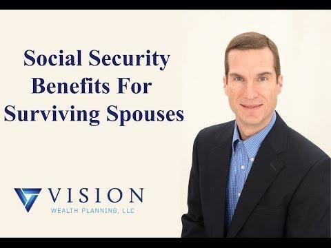 Social Security Benefits for Surviving Spouses