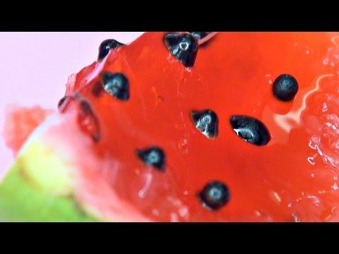 WATERMELON JELLO (Gelatine) SLICES