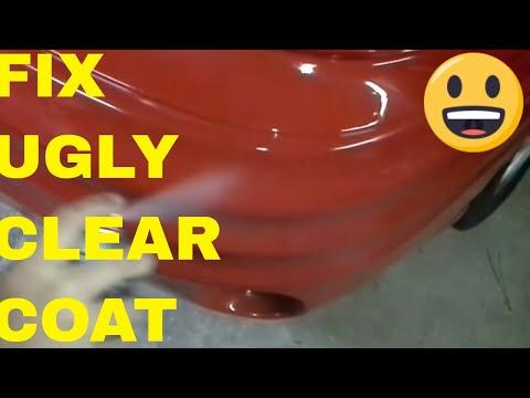 Fix/Repair Peeling,Flaking or Burnt Clear Coat For $15