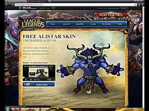 League Of Legends Tutorial - Unlock do Champion Alistar e a sua skin Unchained [HD]