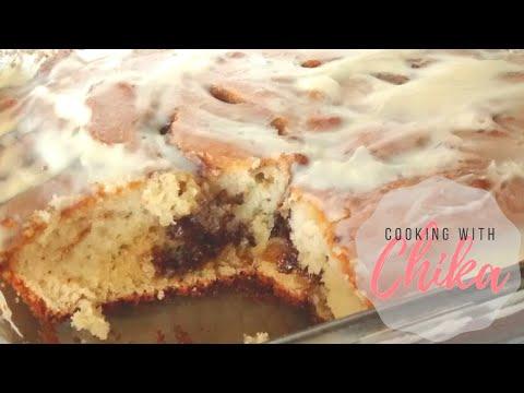 Cinnamon Roll Cake Recipe - Cinnamon Swirl Coffee Cake | Borrowed Delights - Episode 31