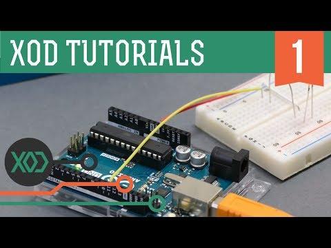 XOD visual programming (Arduino based). Tutorial: #1