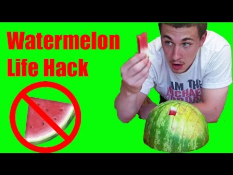 Watermelon life hack