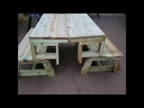 Folding bench/ table 2