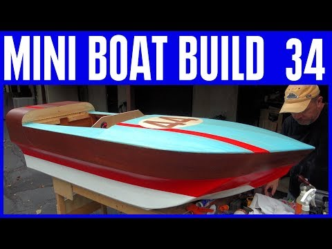 How to Build a Mini Electric Boat 34 Horn, Batteries, Designing the Deck & More