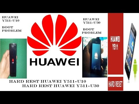 Hard Reset Huawei Ascend Y511