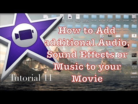 How to Add Audio or Music to your Project in iMovie 10.0.1 | Tutorial 11