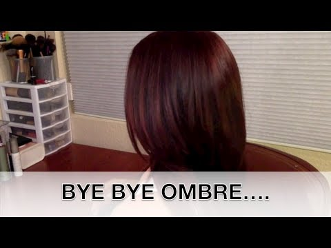 How to: Color Hair at Home ..Bye Bye Ombre,