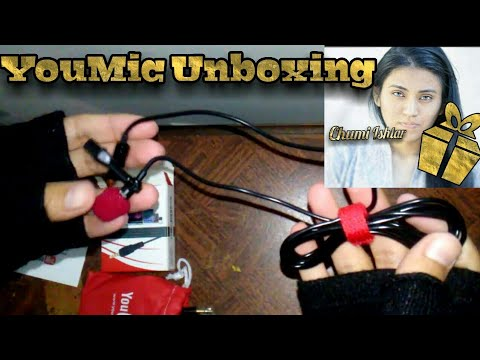 Unboxing| YouMic | Lavailer Microphone | ASMR | Sounds | No Talking
