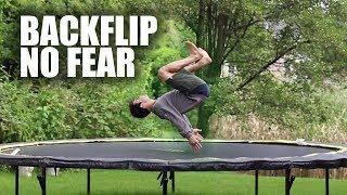 Learn Backflip On A Trampoline ASAP | Method 2