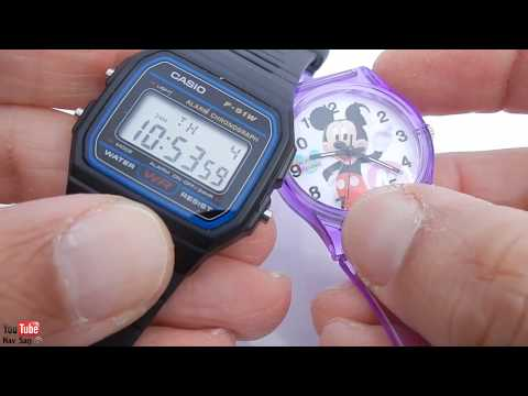 Casio F-91W Unboxing and Review: $8 Watch