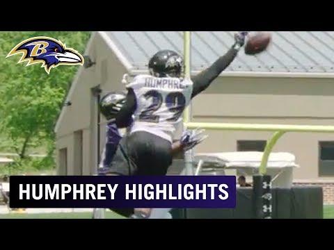 Highlights of Marlon Humphrey Breaking Up Passes at OTAs  ❌ | Baltimore Ravens