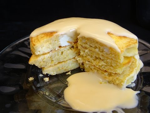 Cheesecake Pancakes with Maple Cream Sauce- with yoyomax12